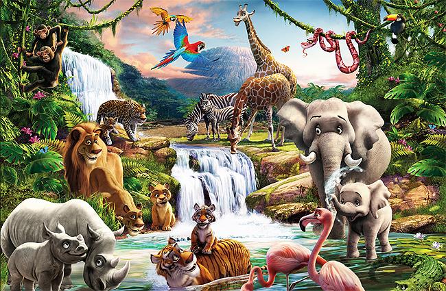 Звуки африанских животных для детей