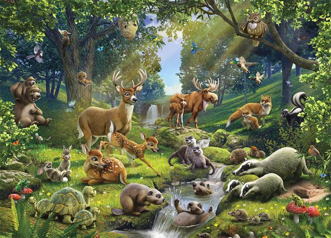 Звуки лесных животных для детей
